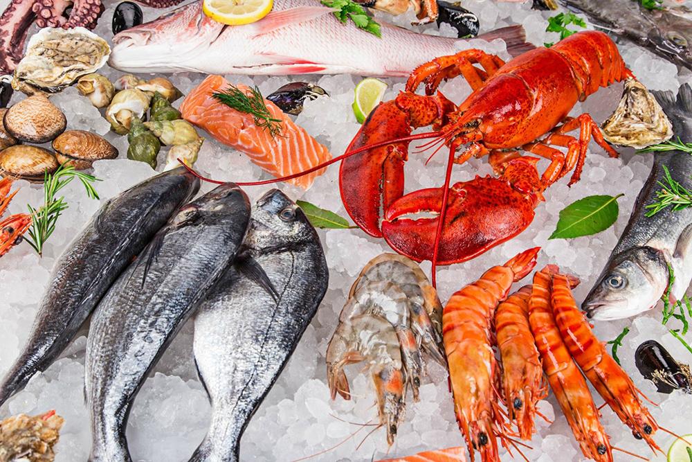 cách chọn hải sản tươi sống