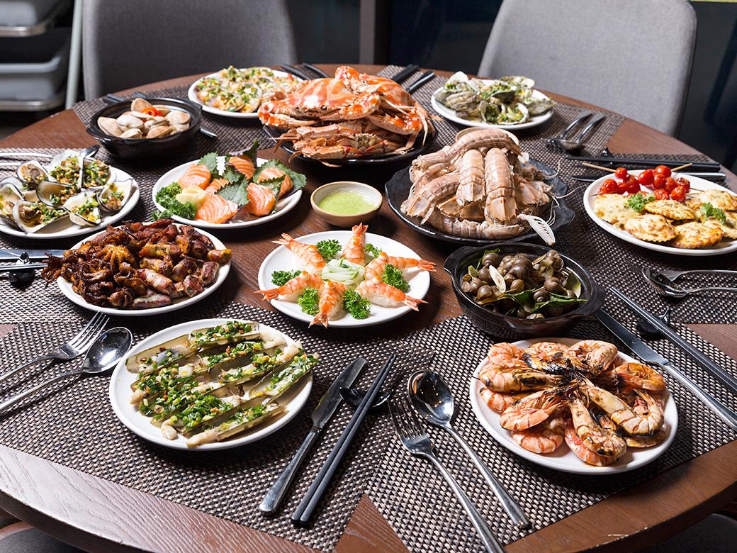 top 5 nhà hàng hải sản quận Tân Phú