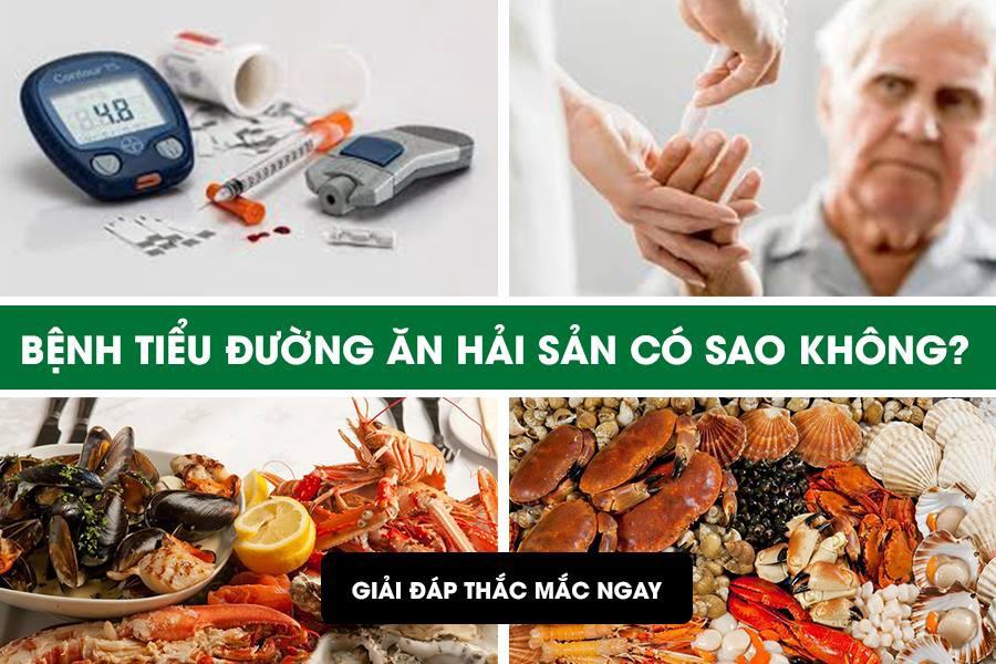 tiểu đường có ăn hải sản được không