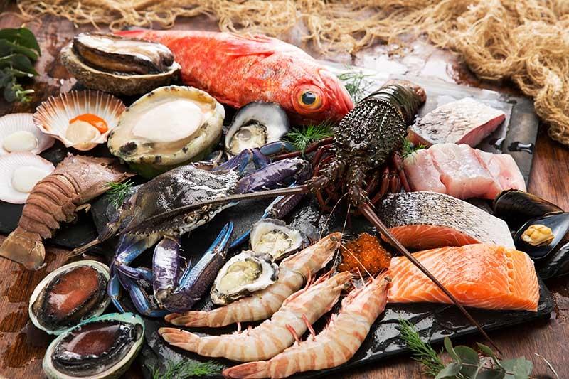 những ,oại hải sản dinh dưỡng nhất