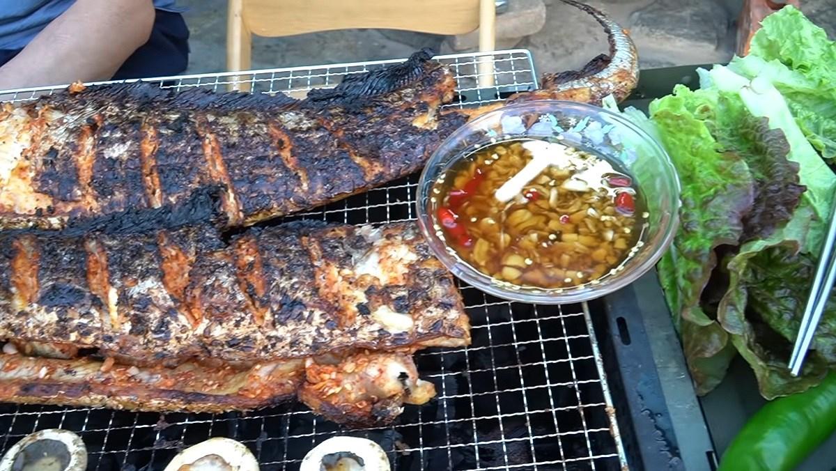 cá hố nướng sả ớt