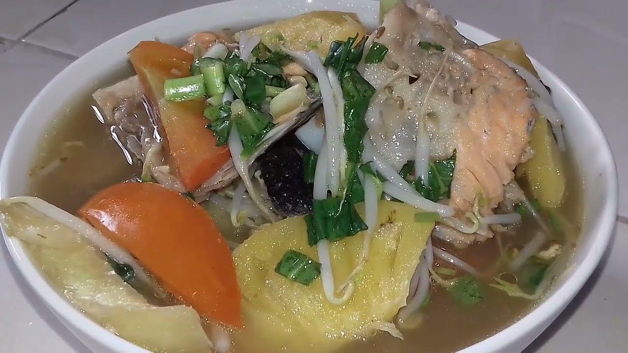 cách nấu canh chua lườn cá hồi