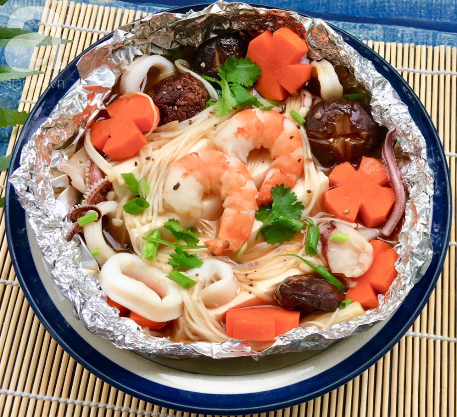 đậu hũ hải sản