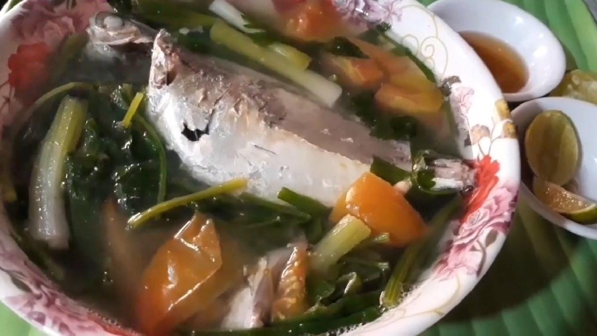 cá ngân nấu ngót
