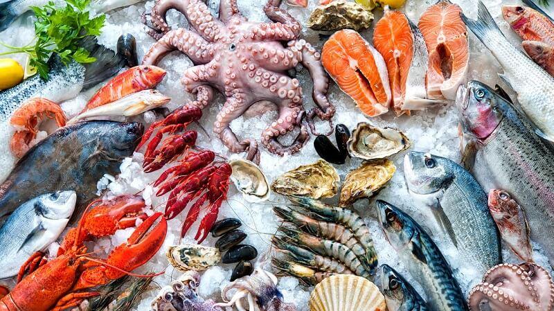 Cách vận chuyển hải sản đi xa